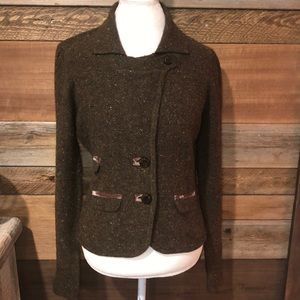Anthropologie Laureate Lane 11 Military Sweater L